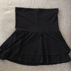 Rampage Black Layered Flirty Skirt